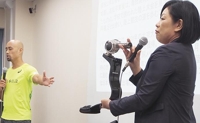 パラ陸上競技メダリスト・山本篤選手の栄養摂取法に鈴木志保子先生が迫る!